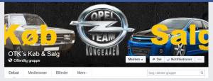 Opel Team Kongeaaen's Køb og Salg